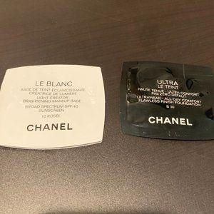 # Chanel Le Blanc (10Rosee) + Ultra Samples (B30)